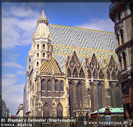 St. Stephen's Cathedral (Stephansdom) in Vienna, Austria