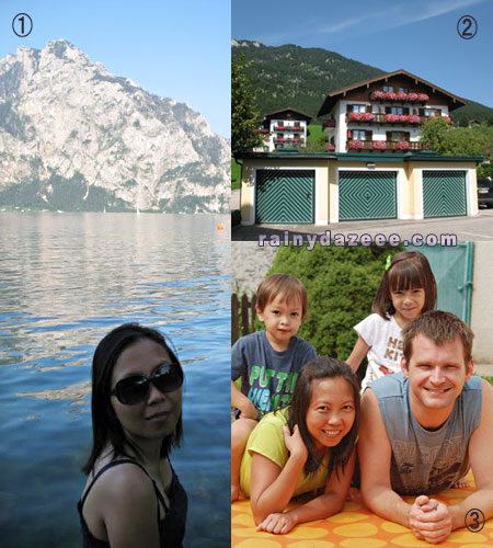 Family weekend at Wolfgangsee, Austria