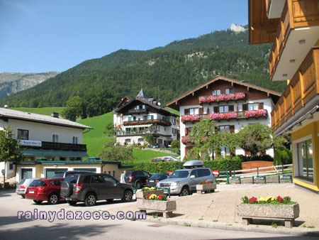 Going to the town center - Wolfgangsee, Austria
