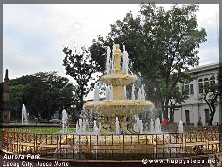 Aurora Park, Laoag City, Ilocos Norte