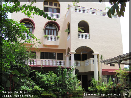 Balay da Blas pension house, Laoag City, Ilocos Norte