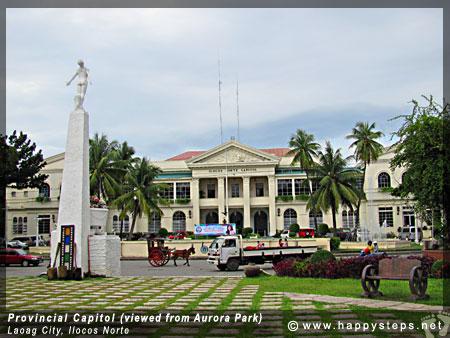 Ilocos Norte Provincial Capitol and Aurora Park, Laoag City, Ilocos Norte