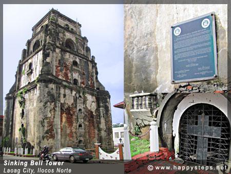 Sinking Bell Tower, Laoag City, Ilocos Norte