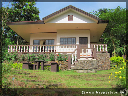 Mambukal Resort: Family Cottage No. 3, where our guests stayed overnight